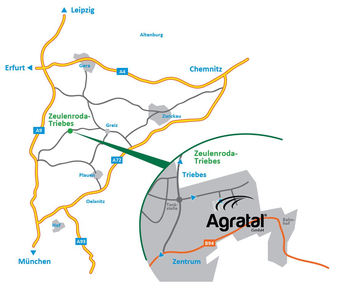 Agratal GmbH - Service-Center Zeulenroda-Triebes
